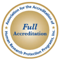 Accredited by AAHRPP