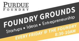 Purdue foundry grounds promo banner diana caldwell power of linkedin